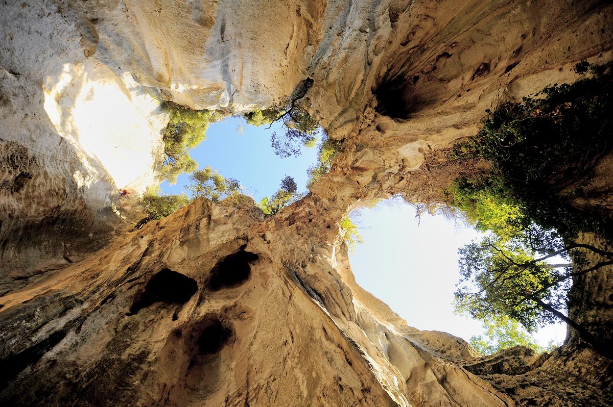 La grotta dell'Edera